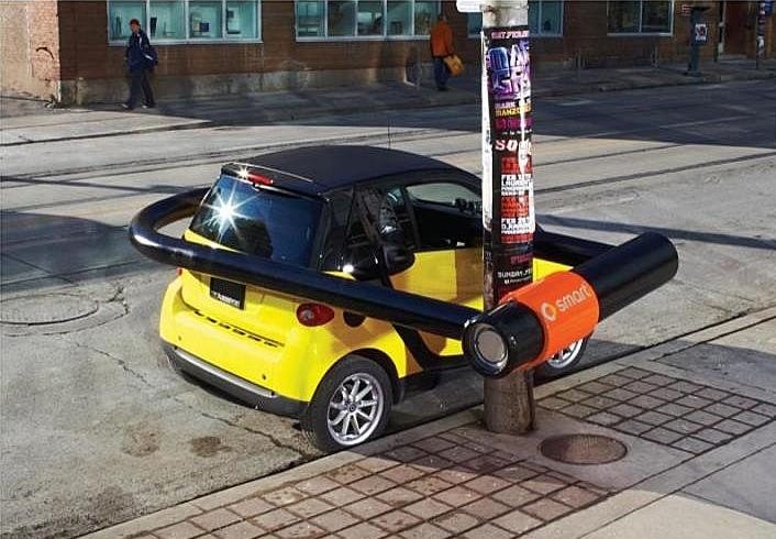 Clever And Creative Smart Car Advertisements