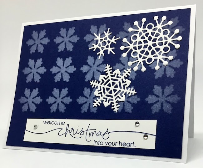 Wasted Snowflakes by Paper Seedlings featured at Pieced Pastimes