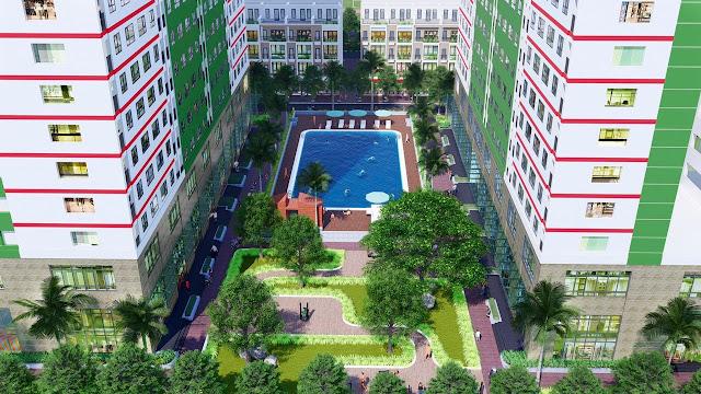 Khu vực này đã được quy hoạch đồng bộ về cơ sở hạ tầng giao thông, nhà ở và cây xanh