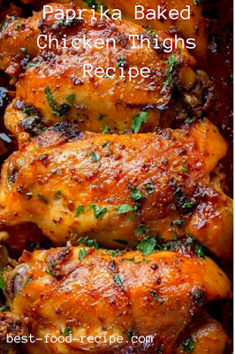 Paprika Baked Chicken Thighs Recipe