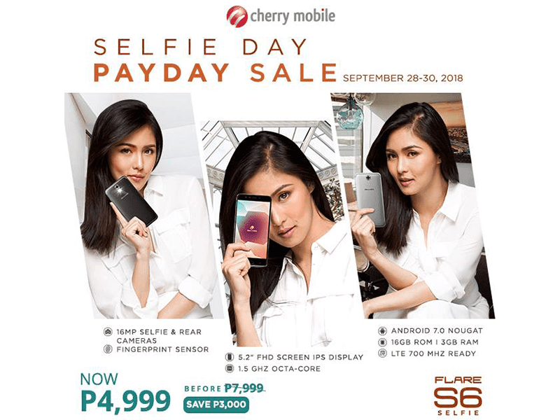 Kim Chiu for the Flare S6 Selfie!