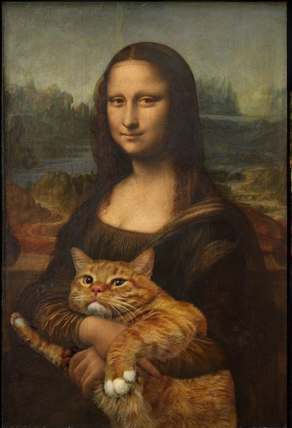 You can't spoil the masterpiece by using cat