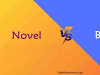 Perbedaan Antara Novel dan Buku
