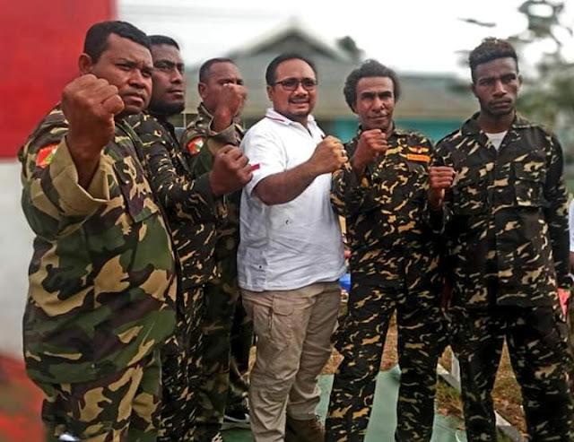 Rusuh Papua Banser di Mana?