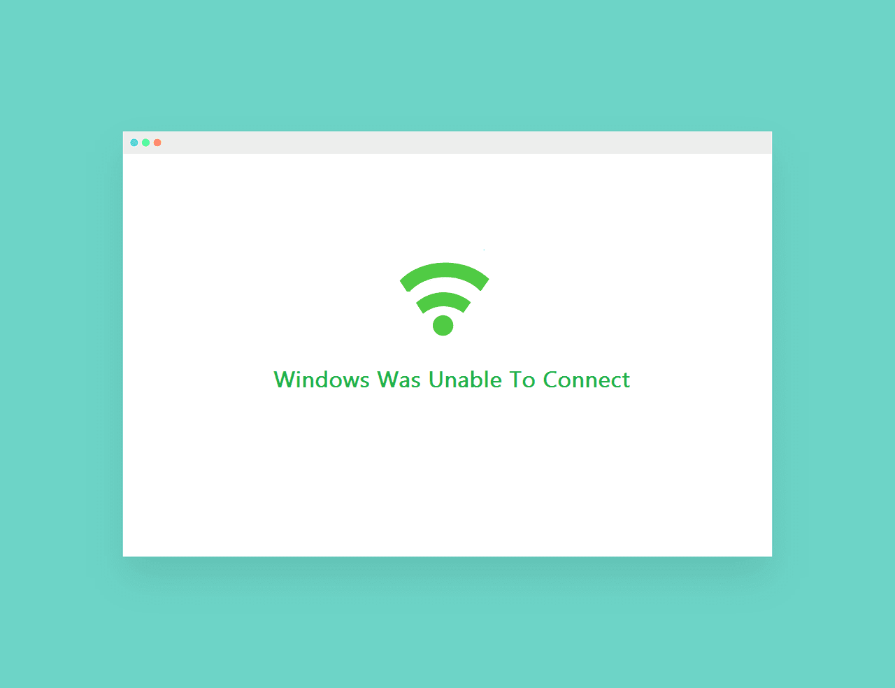 Mengatasi Windows Was Unable To Connect