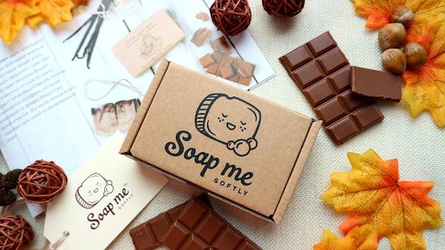 """Soap Me Softly """"Шоколадное"""" мыло марка """"Классическое"""""""