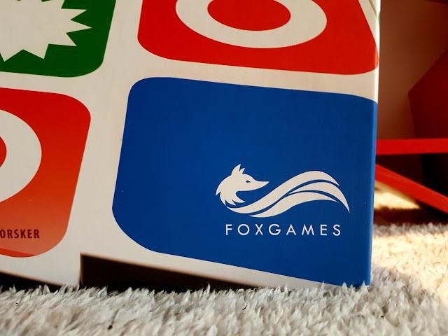 Smart Domino - Fox Games - gry planszowe - planszówka dla dzieci - Jeppe Norsker - gry i zabawki dla dzieci