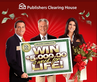 House of Sweepstakes: PCH com $5,000 a Week for Life Sweepstakes