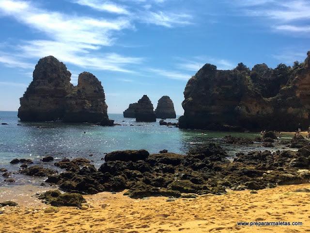 viajar en coche al Algarve