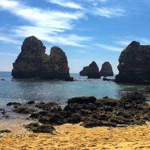 Viaje en coche al Algarve en Portugal