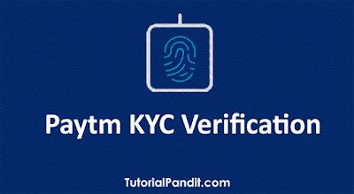 paytm kyc verification