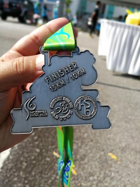 SBOT Trail Run Medal Belakang