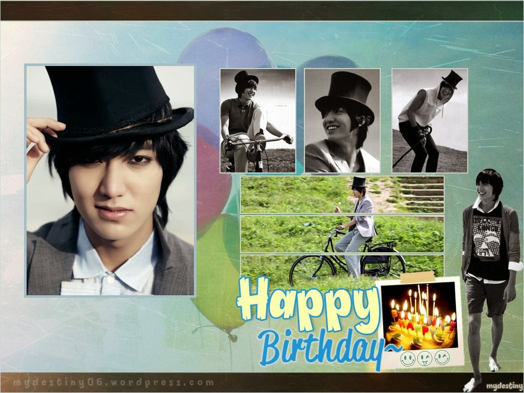 Lee Min Ho birthday