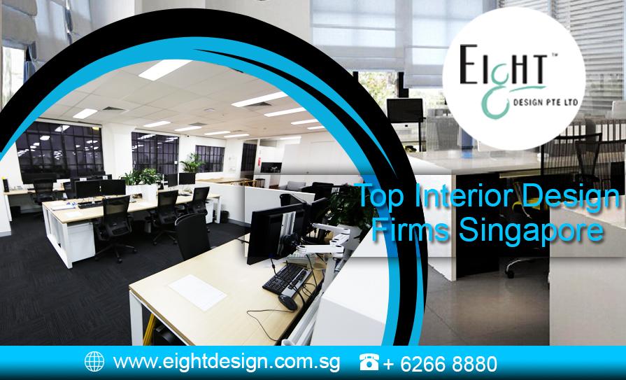 eight design residential office interior design company singapore
