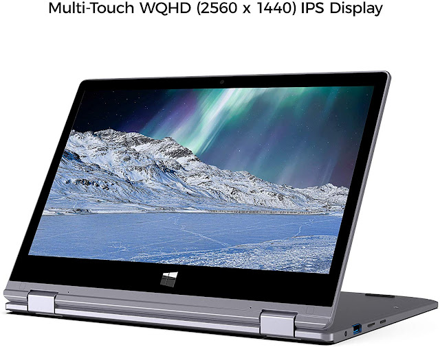 "XIDU 11.6"" PhilBook Pro, 2 in 1 Convertible Touchscreen Laptop"