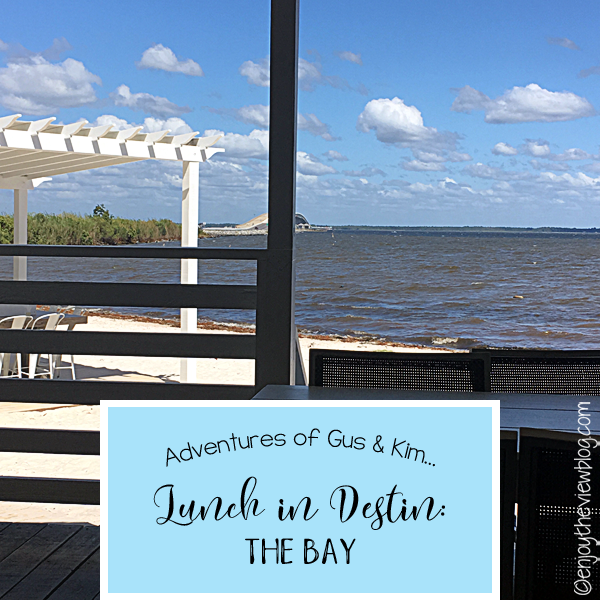 The Bay! We love going out for lunch when we're on vacation! The Bay not only offers delicious food - you also get a wonderful view!