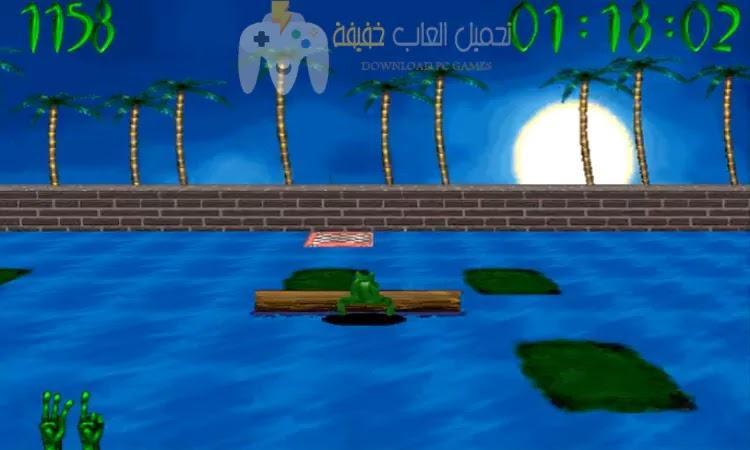 تحميل لعبة الضفدعة القديمة Frog Frenzy برابط مباشر