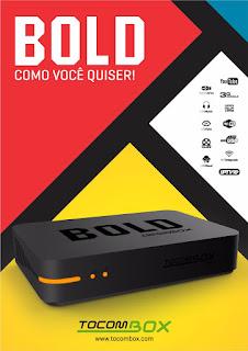TOCOMBOX BOLD LANÇAMENTO