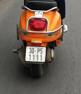 Xem ý nghĩa các con số trong biển số xe máy