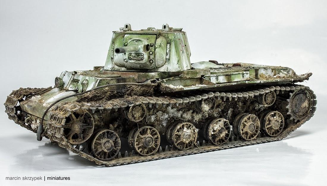 kv 1 model 1942 heavy cast turret tank caramba miniatures. Black Bedroom Furniture Sets. Home Design Ideas