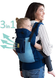 CarryOn Airflow 3-in-1 Ergonomic Toddler & Child Carrier