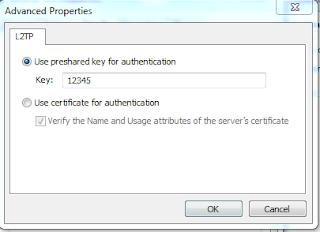 Konfigurasi IPSec Windows