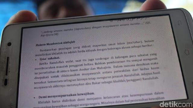 PGRI Usul Materi Khilafah di Buku Agama Islam Diganti Cinta NKRI