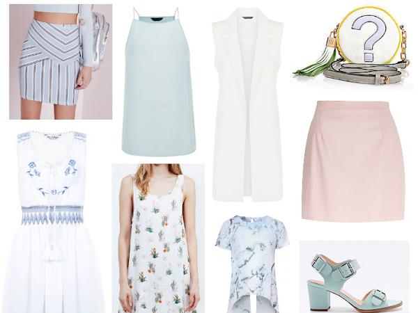 Wishlisting | All The Whites & Pastels