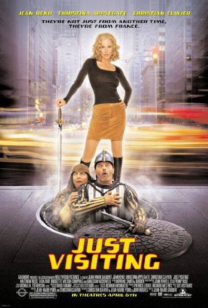 Poster Of Just Visiting 2001 720p Hindi BRRip Dual Audio Full Movie Download