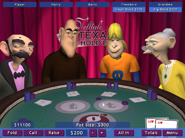 Screenshot from Telltale Texas Hold'Em