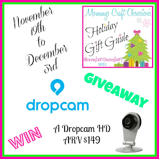 Enter the Dropcam HD Giveaway. Ends 12/3.