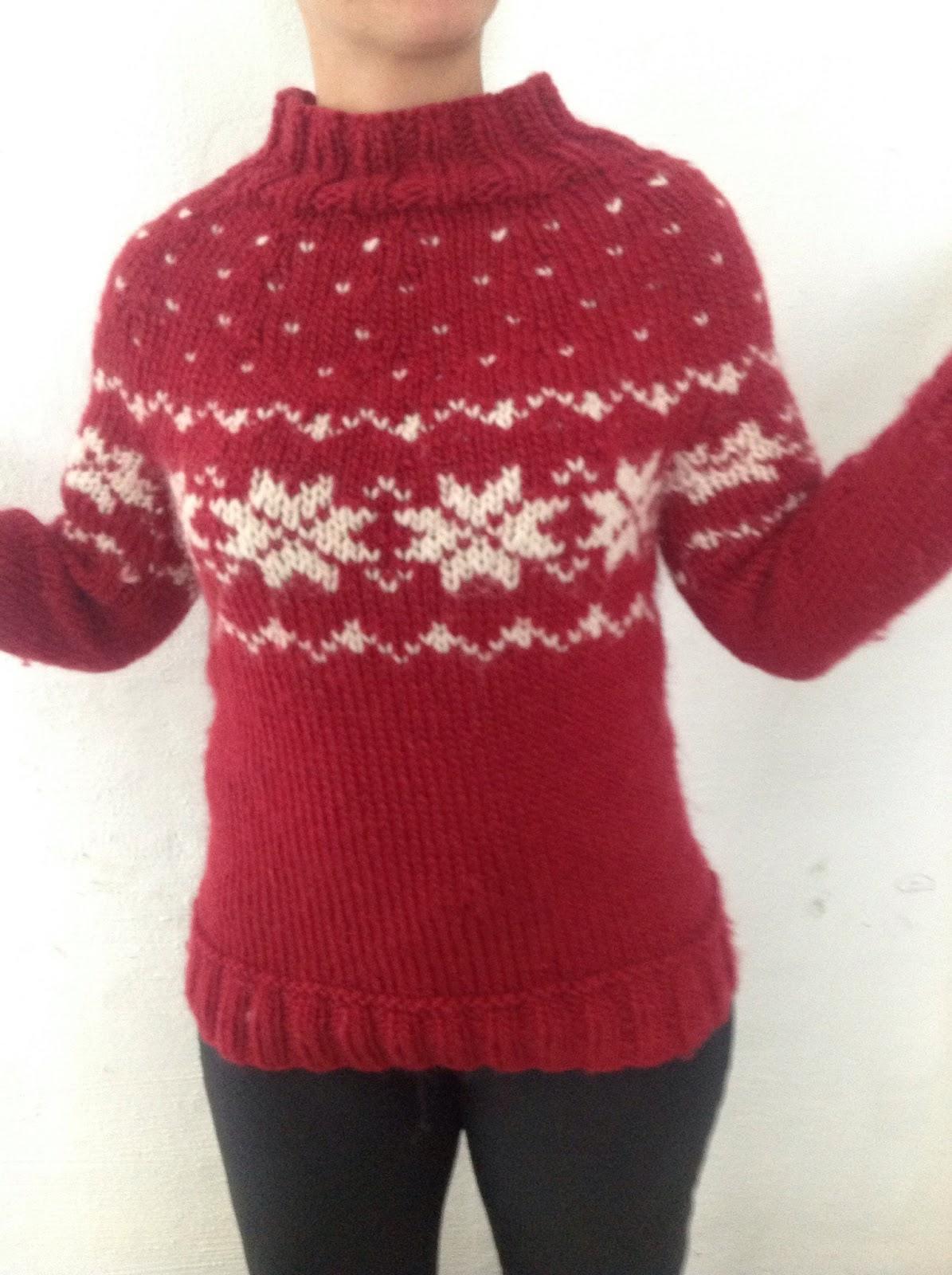Tilbudskode stor rabat professionelt salg Tangs univers: Sweater med fair isle-strik