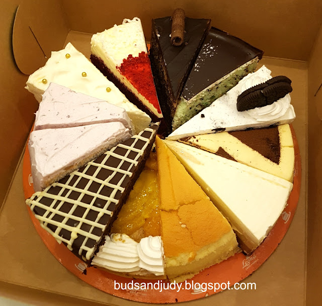 Leona's Bakeshop Review. A review of their cakes. 12 slices, 11 flavors.