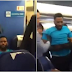 Watch how Nigerians stopped KLM airline from deporting a chained Nigerian man