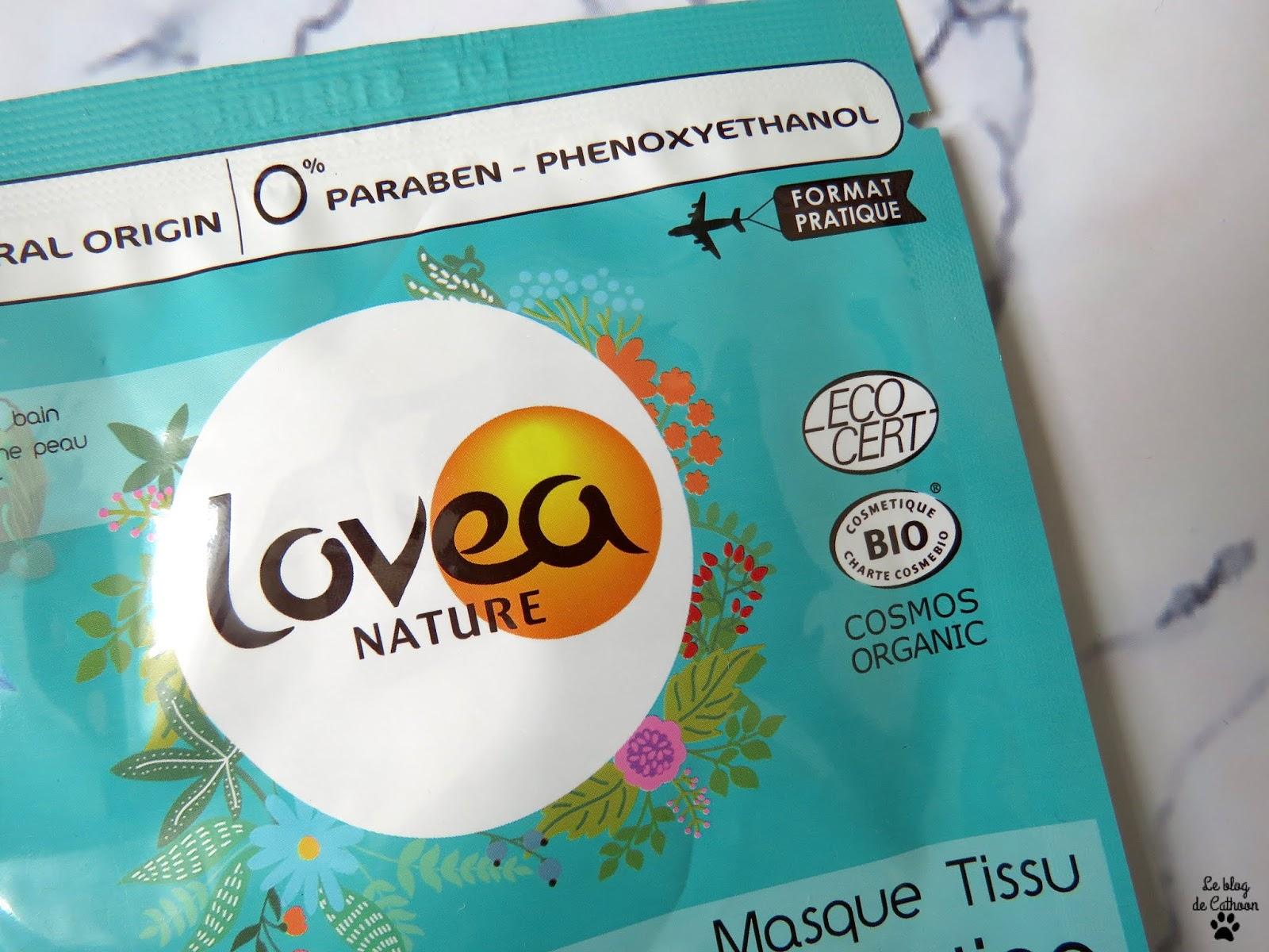 Ideal Hydratation - Eau de Coco - Masque Tissu - Lovea Nature