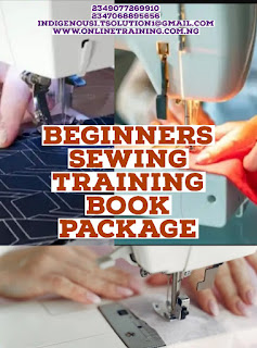 Beginners Sewing Training For Nigeria
