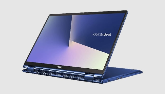 Best laptop from Asus for artists: Asus ZenBook Flip 13 UX362FA.