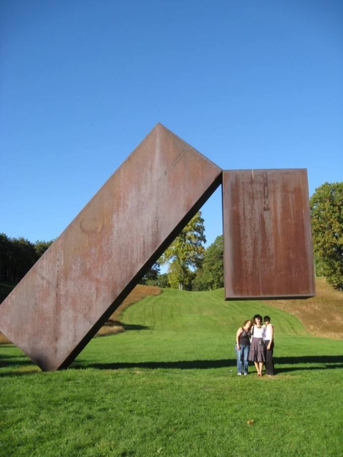 Hazardous geometry Sculpture