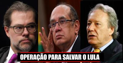 URGENTE!!!!: 2ª Turma do STF anula sentença de Moro e abre caminho para soltar todos corruptos presos e prescrever suas penas
