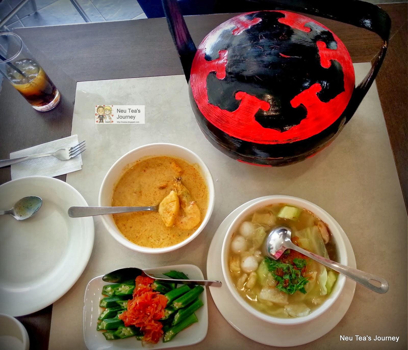 Neu tea 39 s journey amy heritage nyonya cuisine restoran for Amy heritage nyonya cuisine