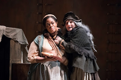 English Touring Opera - Puccini: Il Tabarro - Sarah-Jane Lewis, Clarissa Meek (Photo Richard Hubert Smith)