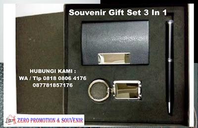 Gift Set Grafir 3 In 1, Souvenir Gift Set Stainless , Souvenir Gift Set Premium, Gift Set Merchandise termurah