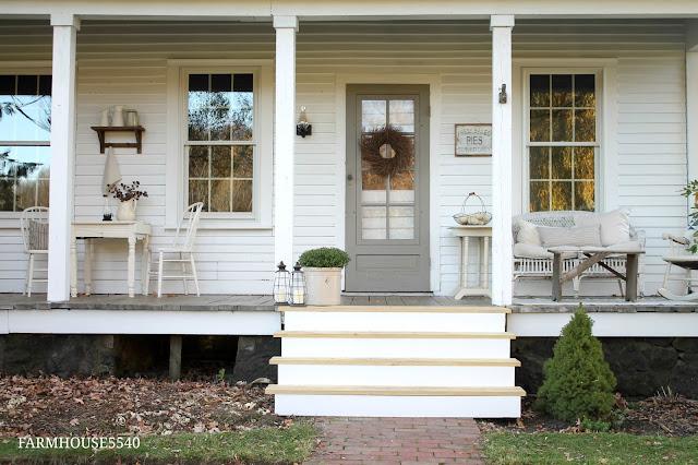 FARMHOUSE 5540 Our Farmhouse Front Porch