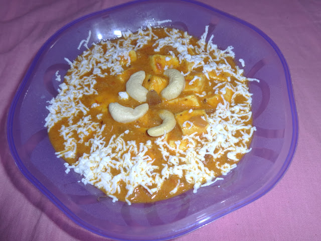 Paneer Lababdar recipe.