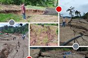Aktifitas Tambang PT SEJ Timbulkan Retakan Tanah, Kebun Raya Megawati Soekarnoputri Terancam