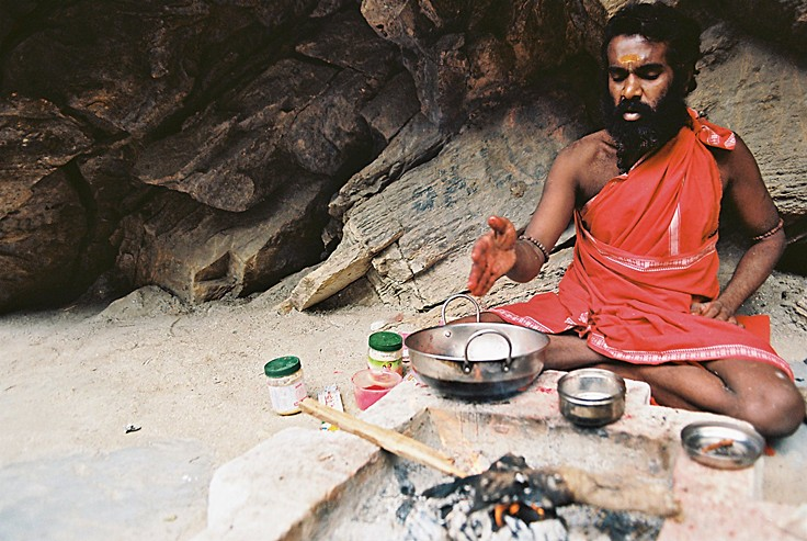Aghori Baba in West Bengal
