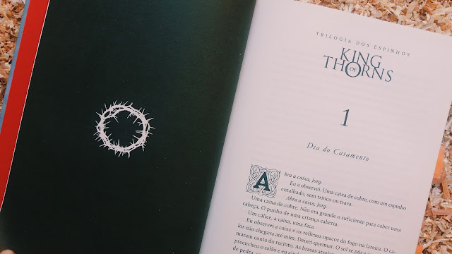 resenha literária King of Thorns