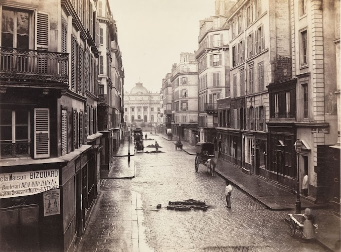 Rare Photos Of Paris From 1860s