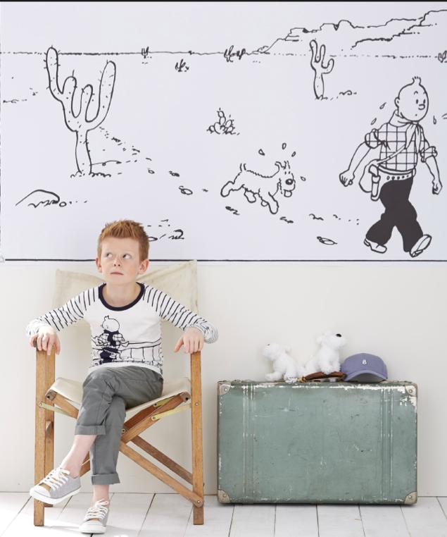 bigbellesmag nouvelle collection tintin chez cyrillus. Black Bedroom Furniture Sets. Home Design Ideas