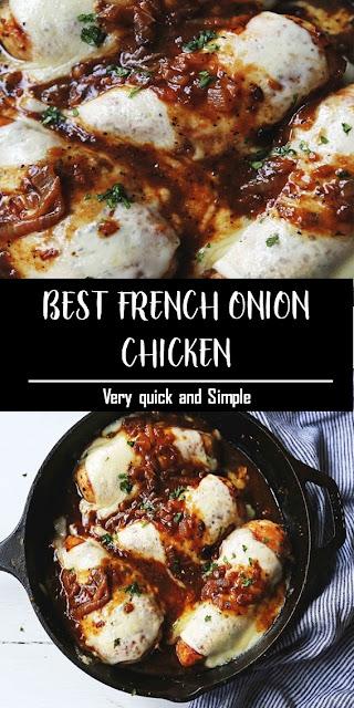 BEST FRENCH ONION CHICKEN